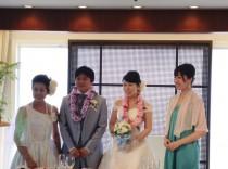 甥の結婚式2