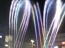 京都駅噴水ショー